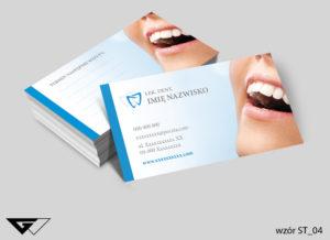 wizytówka dla dentysty