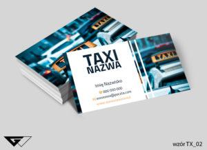 wizytówka taxi miejska