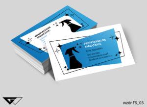 wizytówka dla firmy sprzątajacej