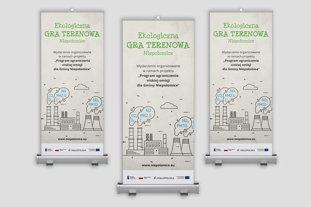 Organizacja, reklama, pełna obsługa ekologicznej gry terenowej