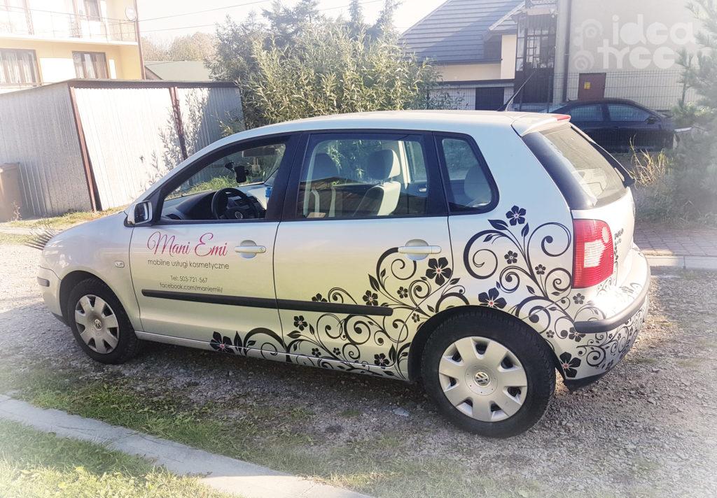 Reklama na samochód, profesjonalne oklejanie samochodów