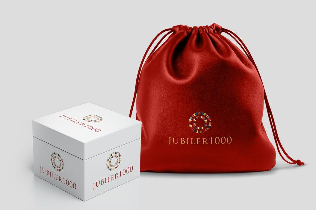 Eleganckie gadżety dla jubilera, pudełeczko na biżuterię, elegancki worek