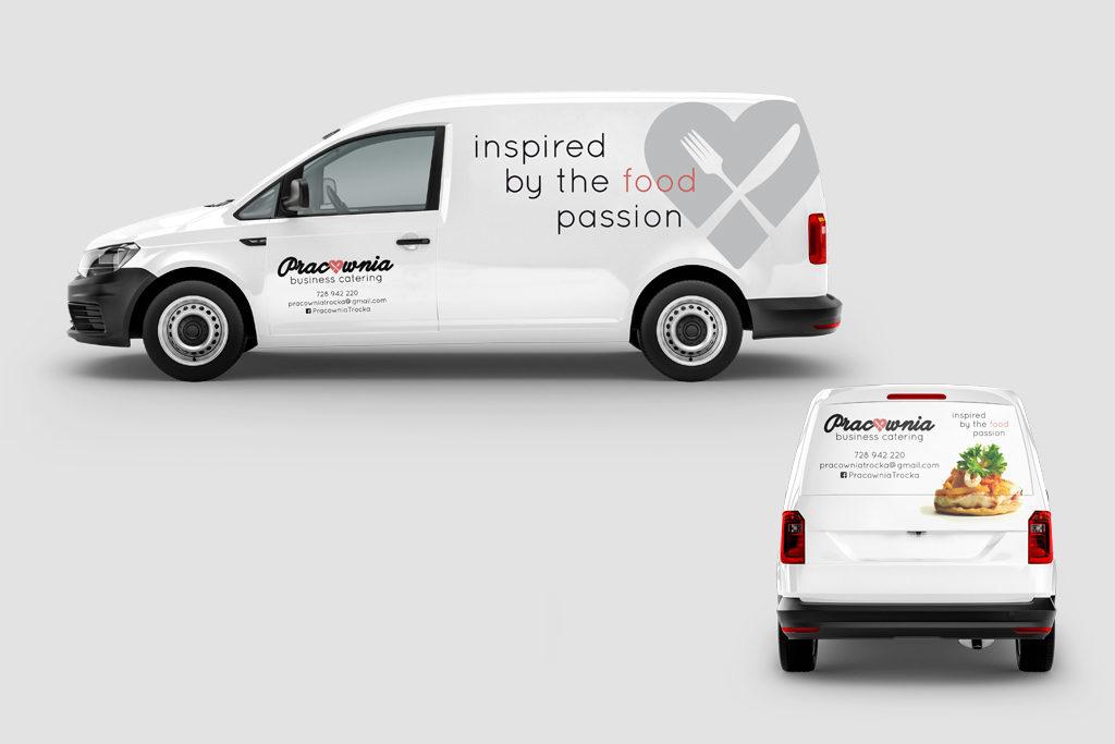 Oklejanie samochodu, reklama na samochód, projekt graficzny